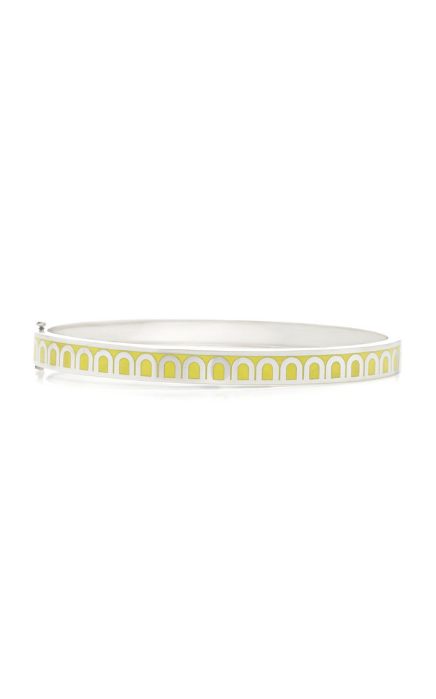 DAVIDOR L'Arc 18K White Gold Bracelet in yellow