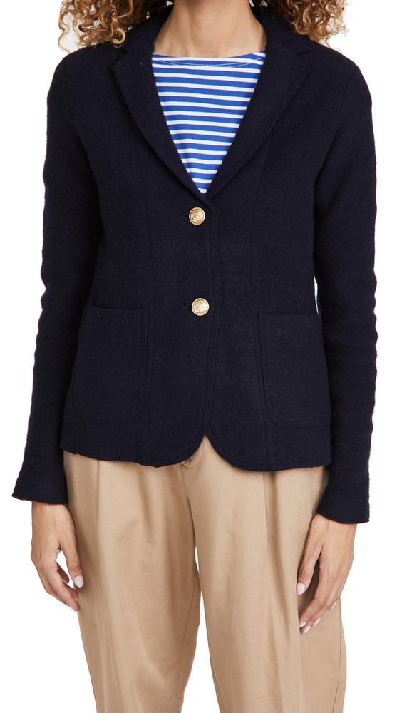 Alex Mill Sweater Blazer in navy