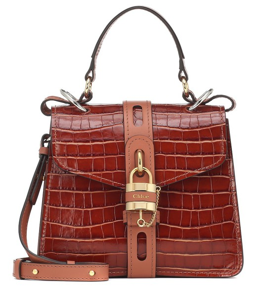 Chloé Aby Day Small shoulder bag in brown