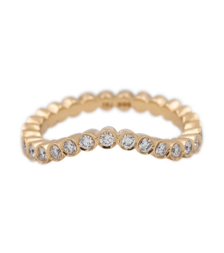 Sophie Bille Brahe Grace Ensemble 18kt gold ring with diamonds