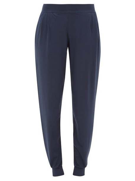 Derek Rose - Basel Micromodal Blend Track Pants - Womens - Blue
