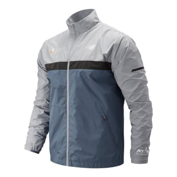 New Balance 73210 Men's NYC Marathon Windcheater Jacket - Blue (MJ73210MCMY)