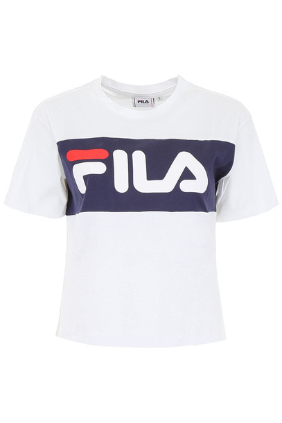 Fila Allison Logo T-shirt in black / white