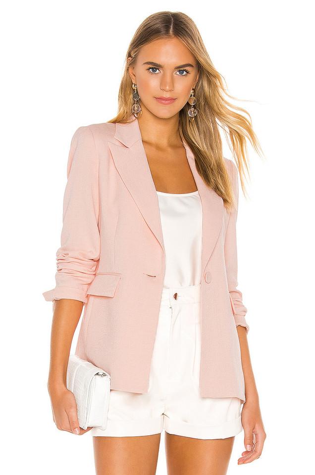 RACHEL ZOE Suzanne Jacket in pink