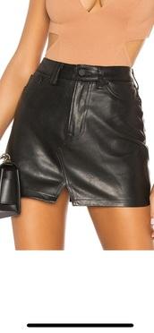 skirt,leather