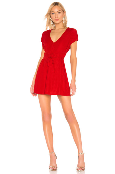 House of Harlow 1960 X REVOLVE Charlet Dress in red