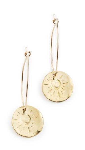 Maison Monik Hoop Earrings in gold