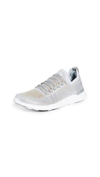 APL: Athletic Propulsion Labs TechLoom Breeze Sneakers in gold / metallic / silver