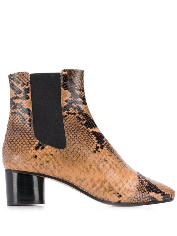 Isabel Marant Danae boots in neutrals