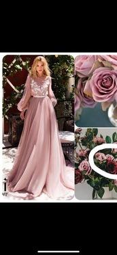 dress,wedding,purple,pink,flowers,nature,lovely,cute,girlish