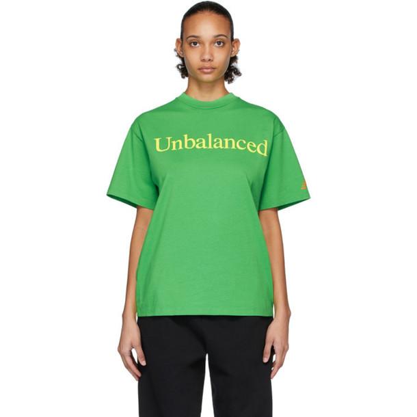 Aries Green New Balance Edition Unbalanced T-Shirt