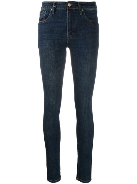 Armani Exchange skinny jeans in blue