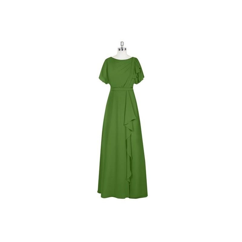 Moss Azazie Aaliyah - Scoop Floor Length Chiffon Back Zip Dress - Cheap Gorgeous Bridesmaids Store