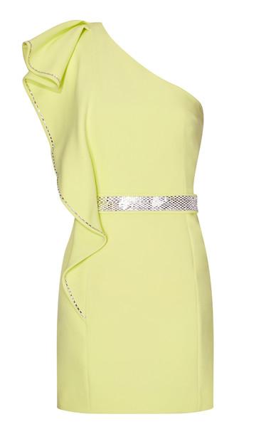 Safiyaa Mirlande Short Dress Size: 32 in yellow
