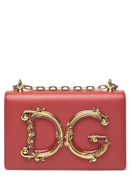 Dolce & Gabbana 'dg Girls' Bag in red