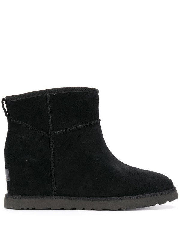 UGG chunky ankle boots in black