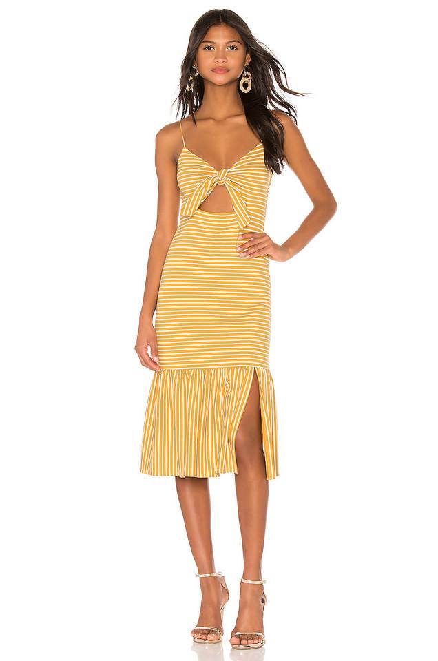 SAYLOR Doris Dress in yellow