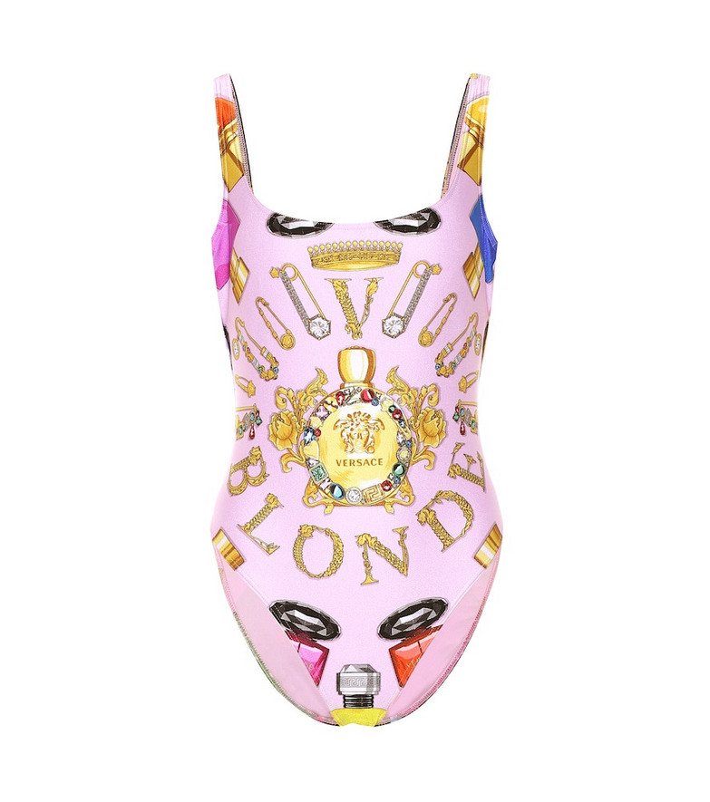 Versace Printed one-piece swimsuit