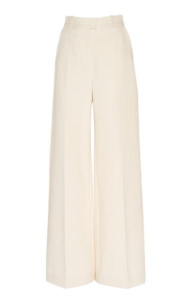 Martin Grant Wide Leg Trousers in white