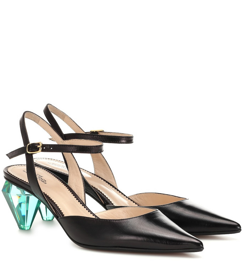 Marc Jacobs The Slingback leather pumps in black