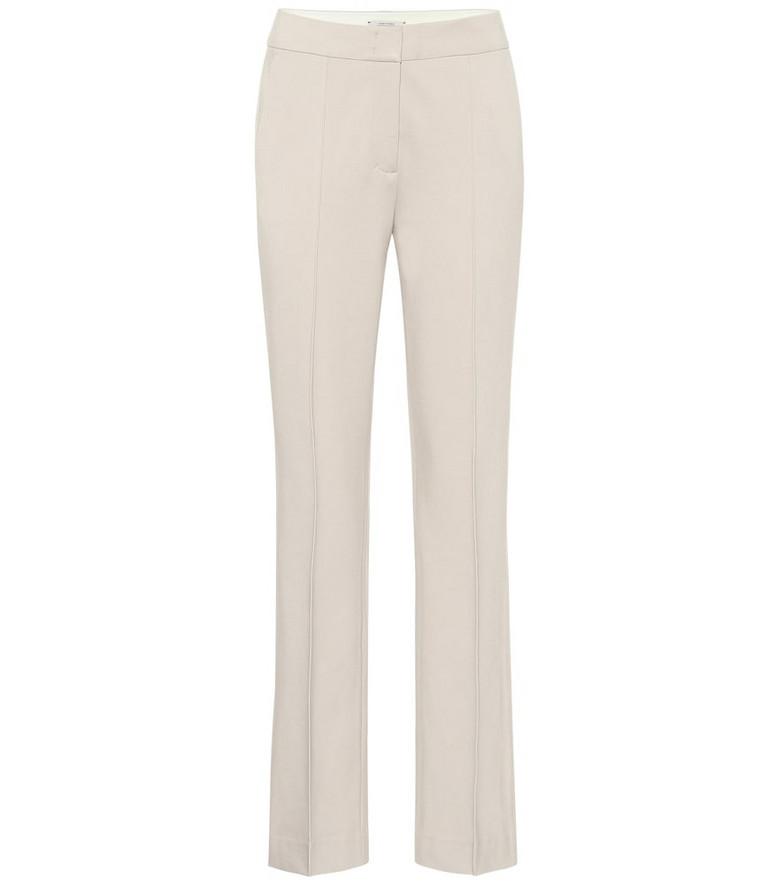 Dorothee Schumacher Emotional Essence high-rise pants in beige