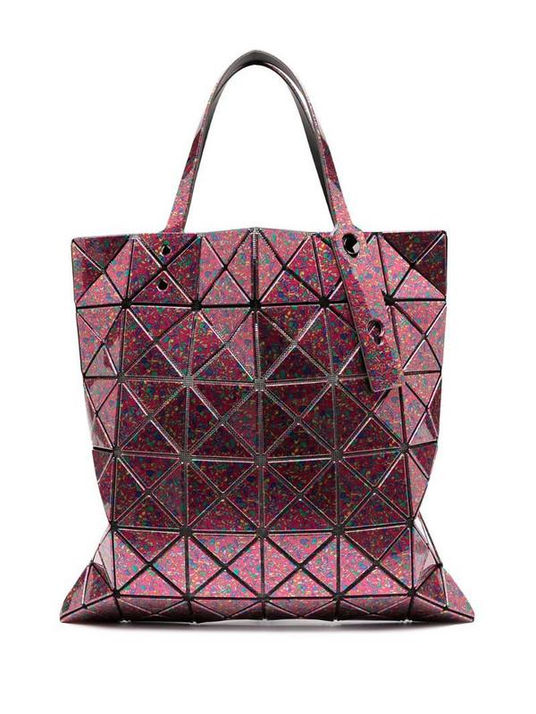 Bao Bao Issey Miyake Prism top-handle tote in pink