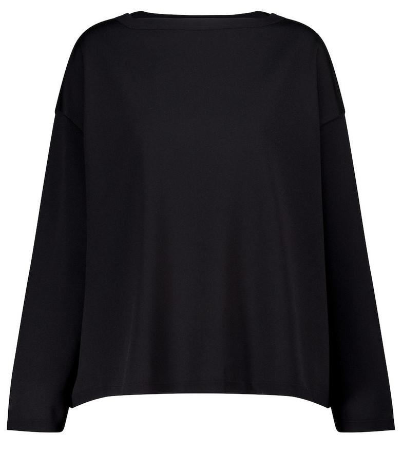 Alaïa Stretch-knit sweater in black