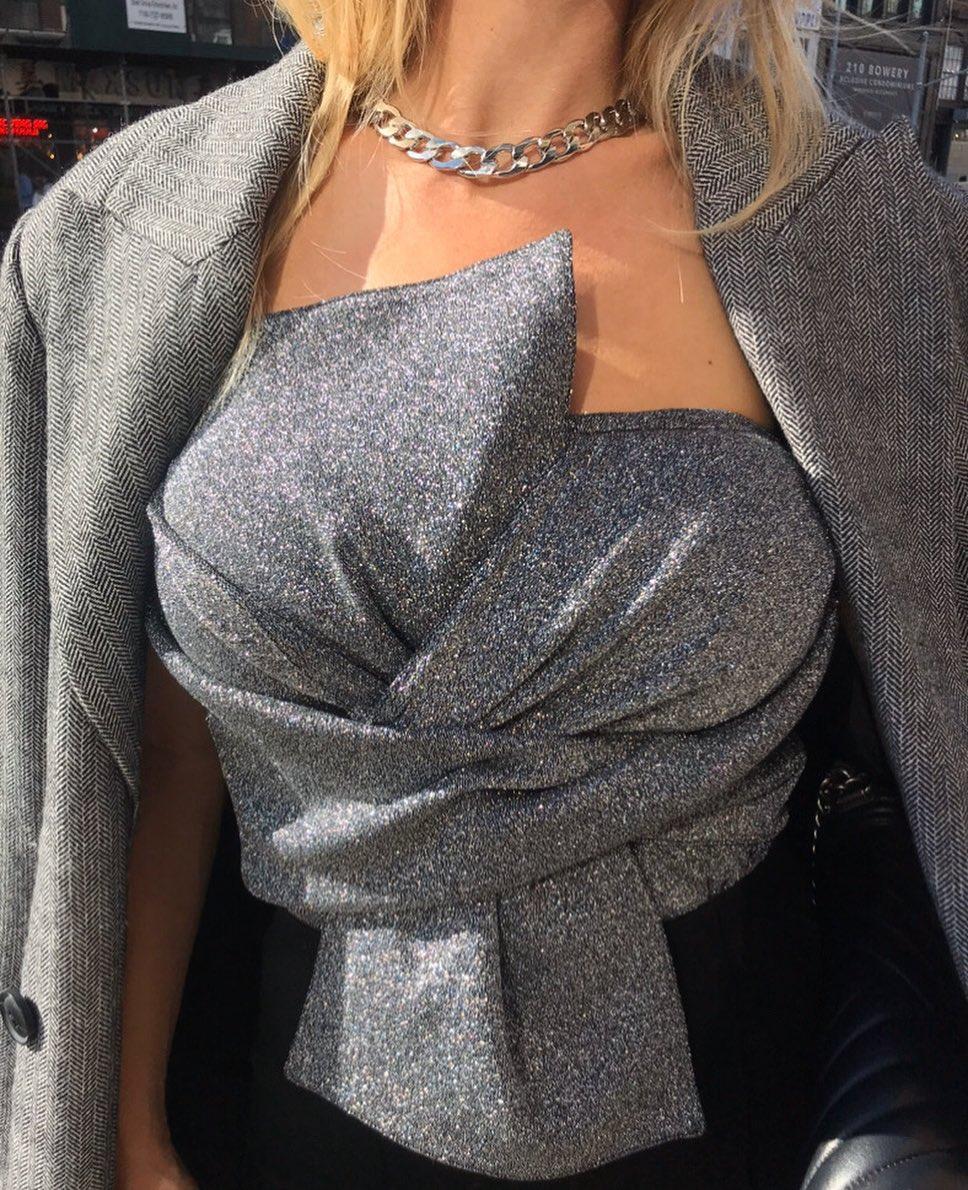 underwear coat jewels