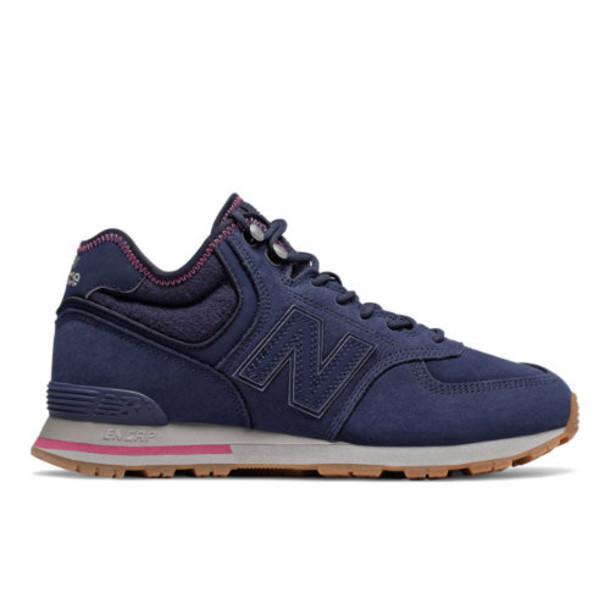 New Balance 574 Mid Men's 574 Shoes - Navy/Purple (MH574RDE)