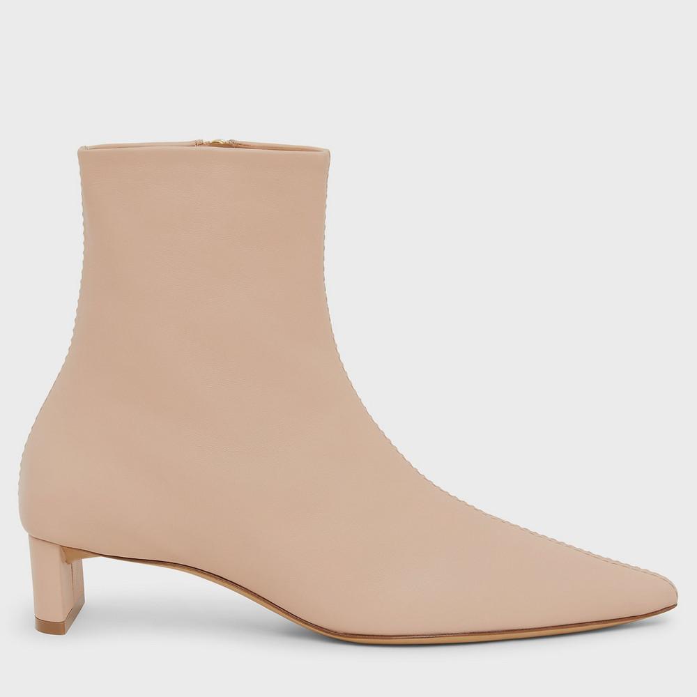 Mansur Gavriel Pointy Boot - Puff