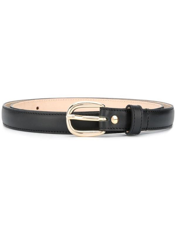 A.P.C. Rosette belt in black