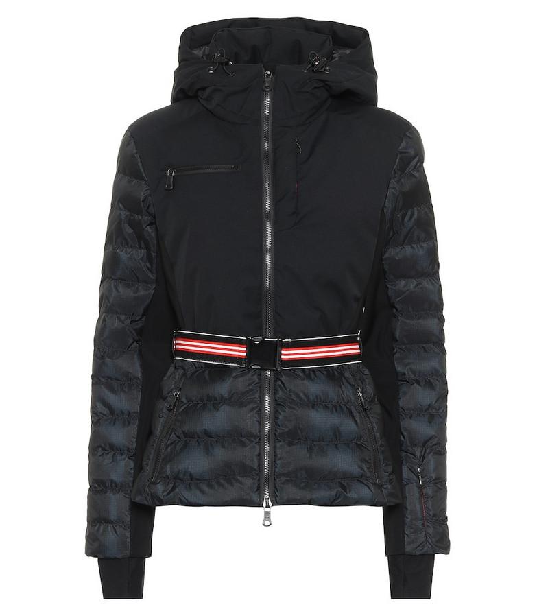 Erin Snow Kat hooded ski jacket in black