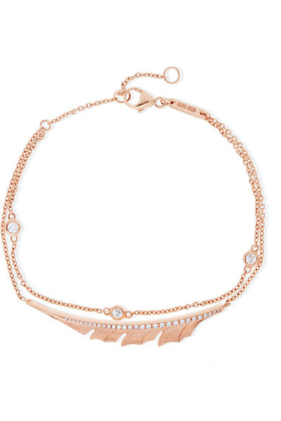 Stephen Webster - Magnipheasant 18-karat Rose Gold Diamond Bracelet