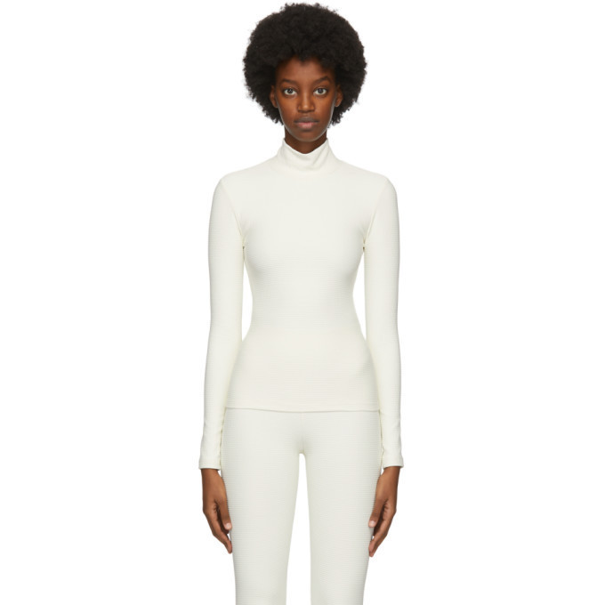 Gil Rodriguez Off-White Pris Thermal Sweater in natural