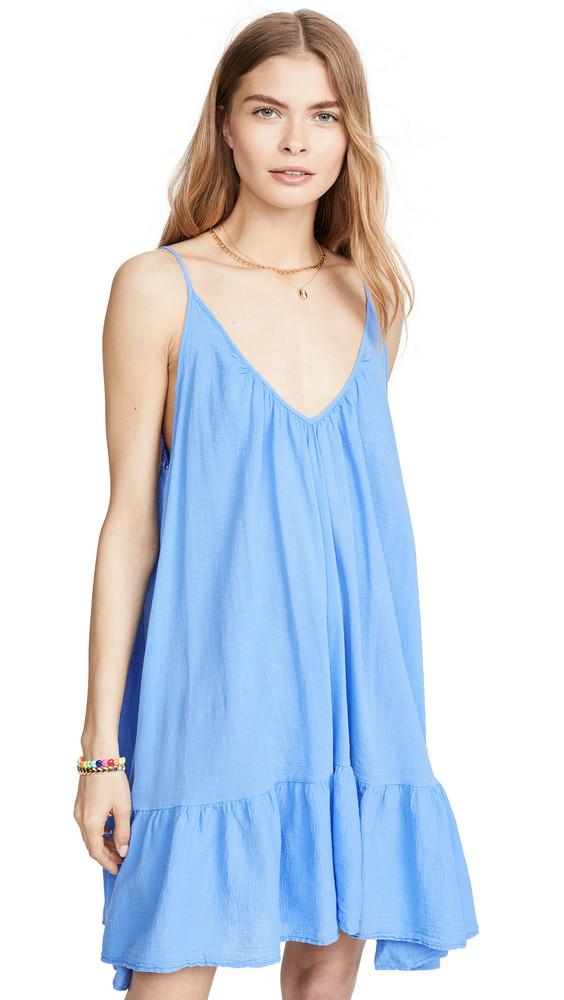 9seed St. Tropez Mini Dress in blue