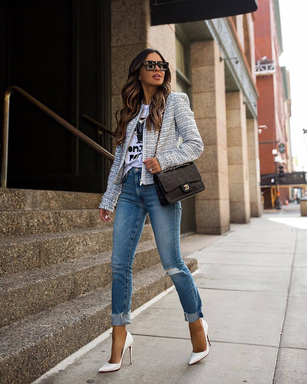 jeans denim blue jeans ripped jeans shoes jacket