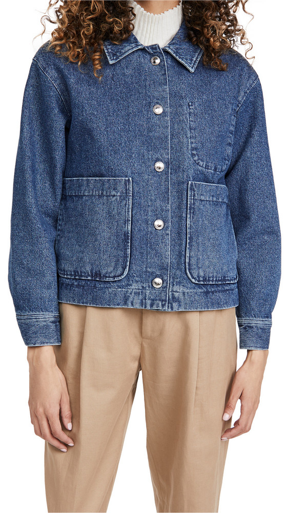 A.P.C. A.P.C. Veste Nikkie Jacket in blue