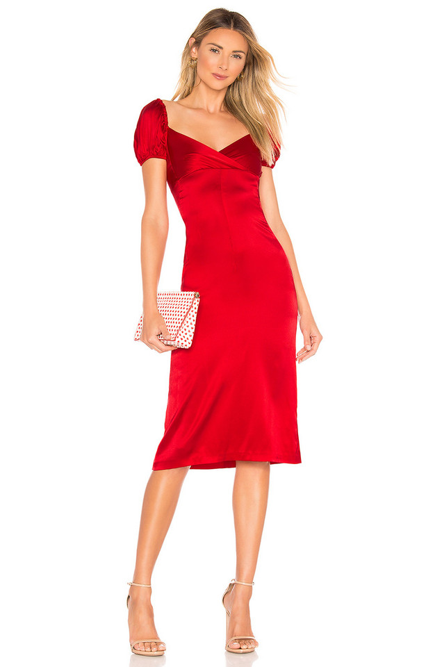 Alexis Cadiz Dress in red