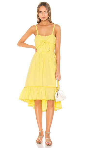 Tularosa Phyllis Dress in Yellow