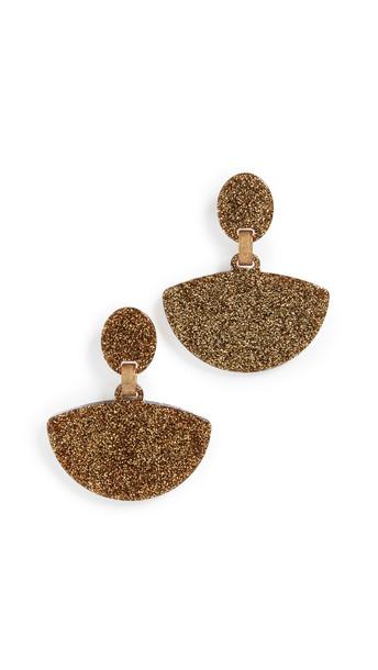 Simon Miller S749 Fan Earrings in gold