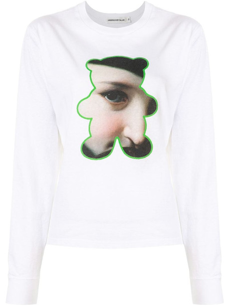Undercover graphic print T-shirt in white