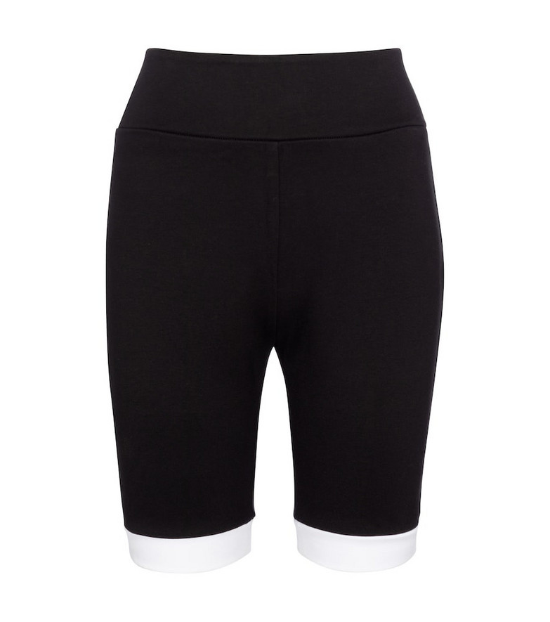 Staud Cruise knit biker shorts in black