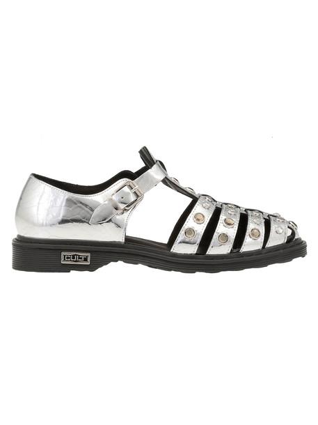 Cult Sabbath Low Sandal in silver