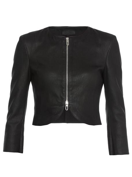 DROMe Leather Jacket in black