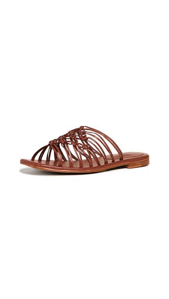 Jeffrey Campbell Emersyn Slides in tan