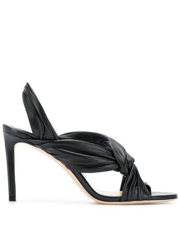 Jimmy Choo Lalia sandals in black