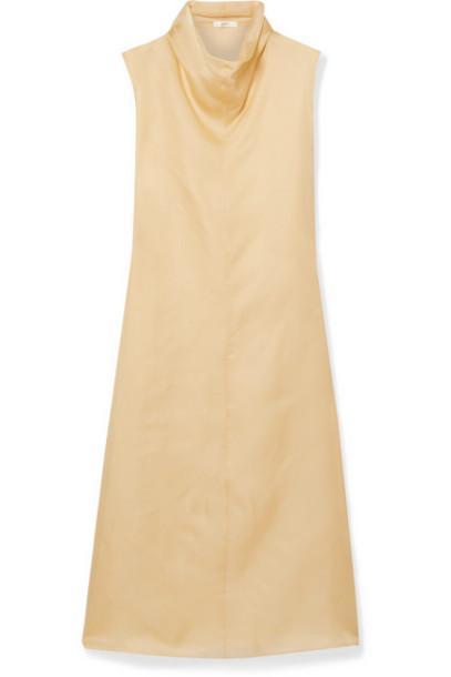 The Row - Virginia Silk-organza Maxi Dress - Beige