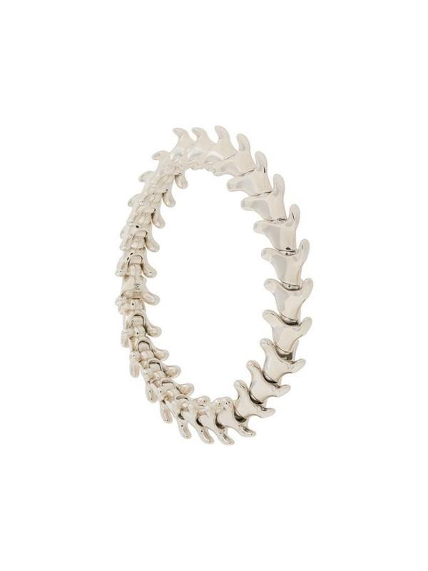 Shaun Leane Serpent Trace wide bracelet in silver
