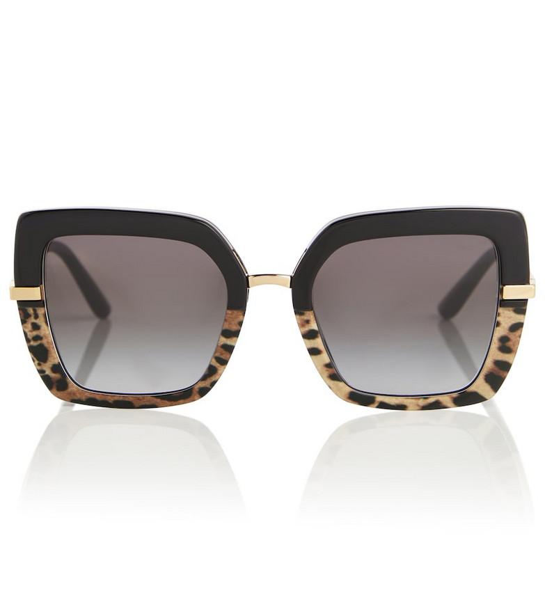 Dolce & Gabbana Square sunglasses in black