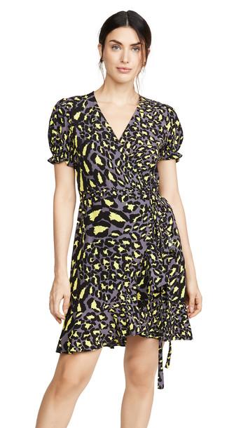 Diane von Furstenberg Emilia Dress in leopard